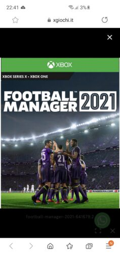 Football Manager 2021 photo review