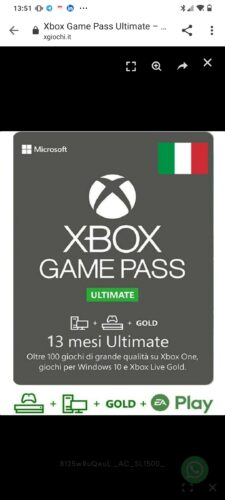 Game Pass Ultimate – Abbonamento 13 mesi photo review